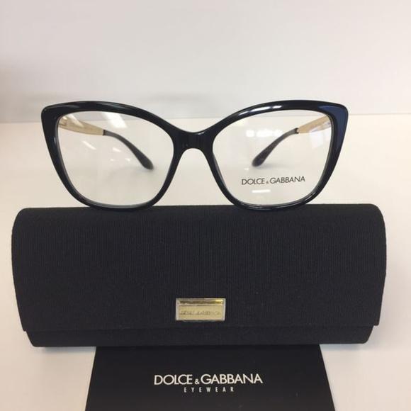 a818807dde6 Dolce   Gabbana 3280 501 Black Plastic Eyeglasses